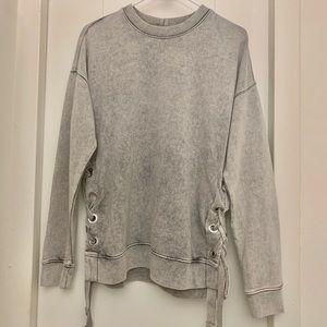 All Saints Acid Wash Sweatshirt